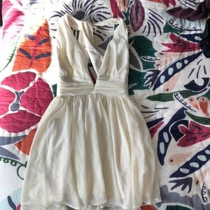 Snap skirt dress